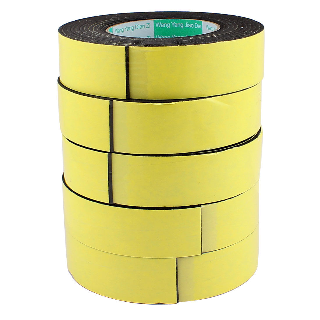 5 Pcs 3.5CM Width 4M Length 3MM Thick Single Sided Sealing Shockproof Sponge Tape