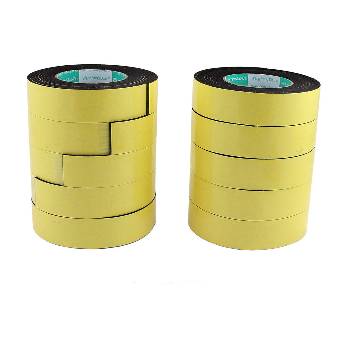 10 Pcs 3.5CM Width 4M Length 3MM Thick Single Sided Sealing Shockproof Sponge Tape