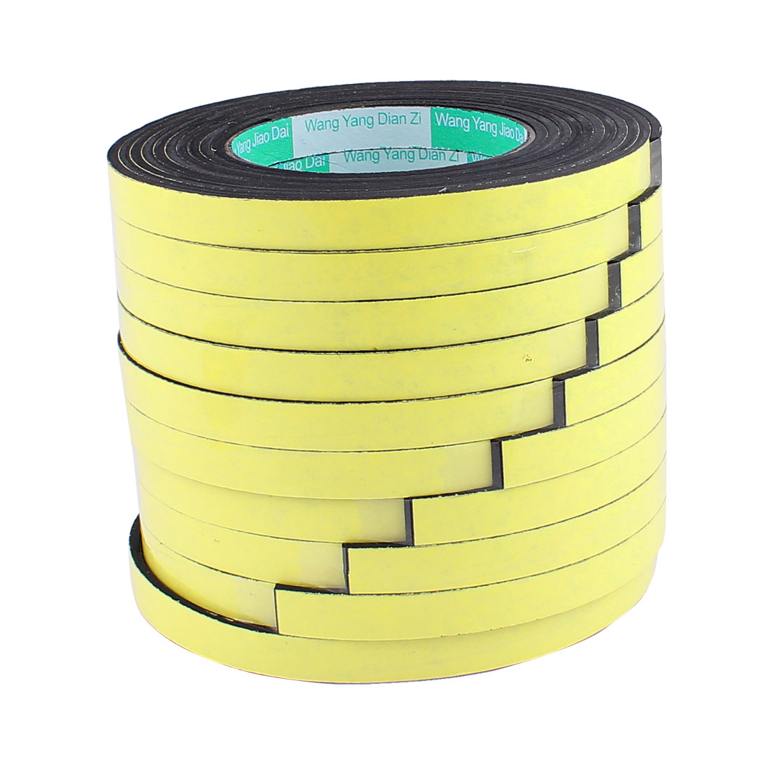10 Pcs 1.2CM Width 4M Length 3MM Thick Single Sided Sealing Shockproof Sponge Tape