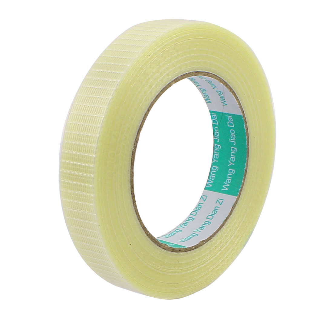 20mm Height 50M Length Long Adhesive Insulating Grid Glass Fiber Tape Roll