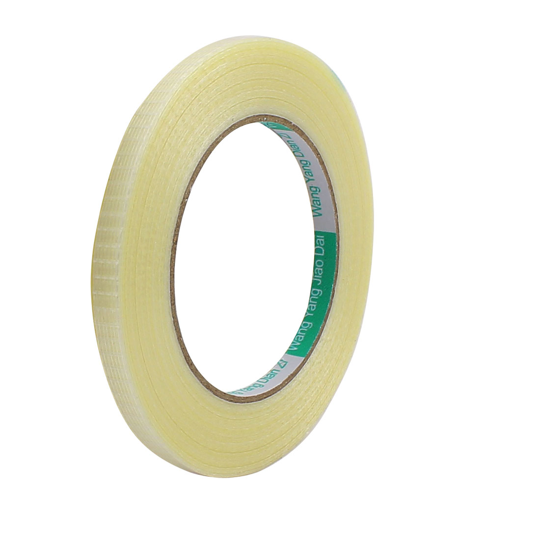 8mm Height 50M Length Long Adhesive Insulating Grid Glass Fiber Tape Roll