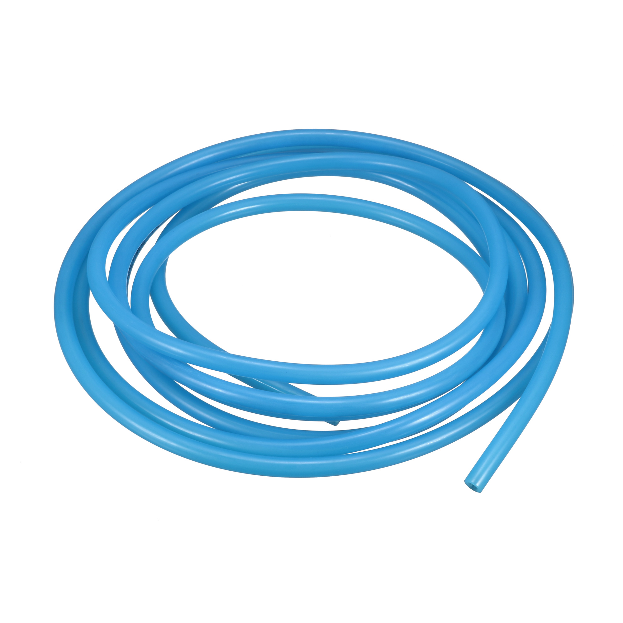Flexible Drauble PU Tube Pneumatic Polyurethane 6mm x 4mm Hose 3 Meters Long Blue
