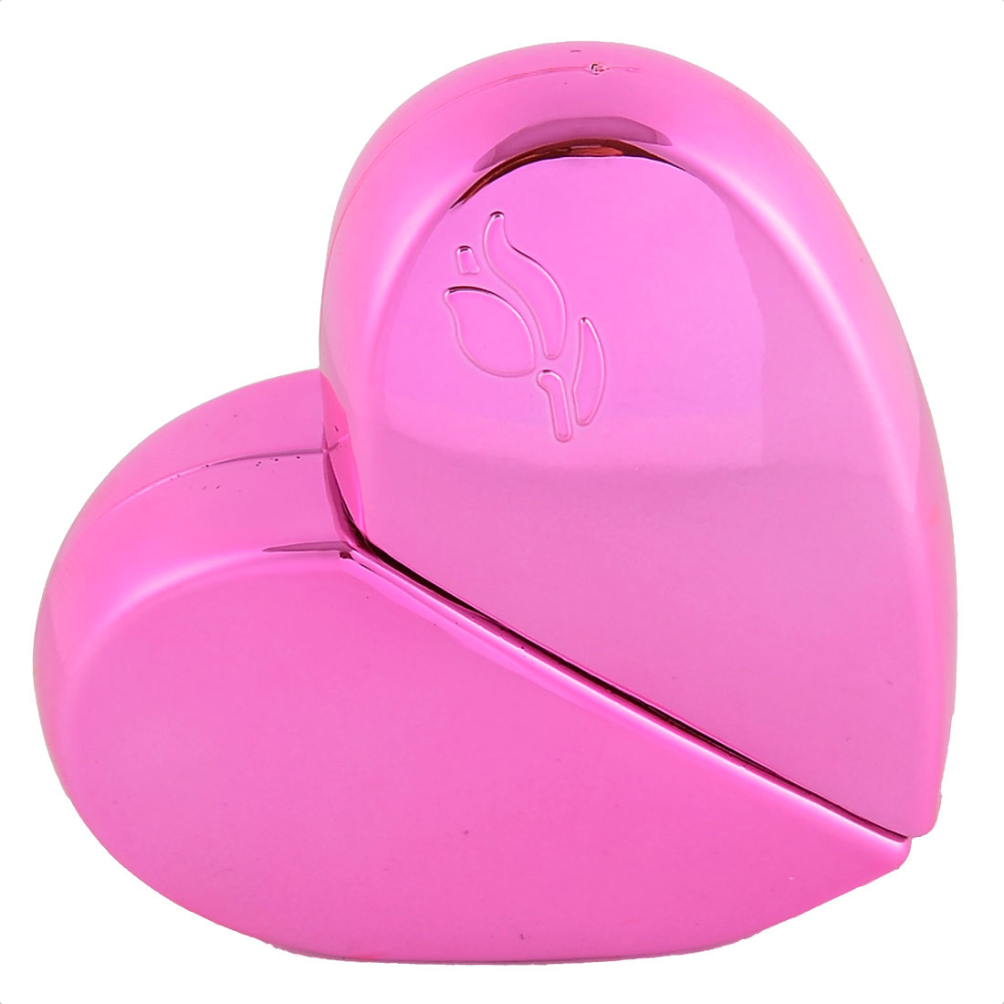 25mL Travel Portable Heart-shaped Cosmetic Water Perfume Spray Bottles Pink