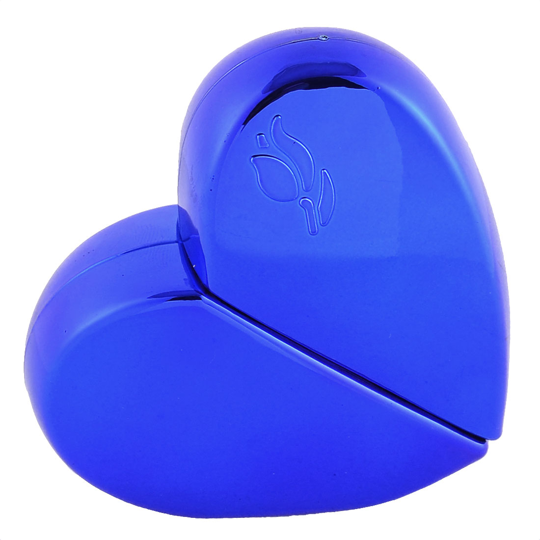 25mL Travel Portable Heart-shaped Cosmetic Water Perfume Spray Bottles Blue