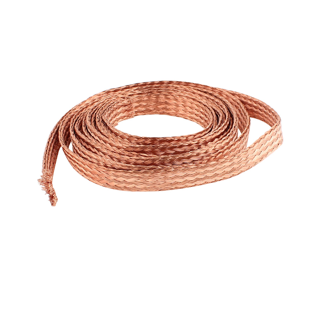 6 Square Millimeter Thickness 2M Length Flat Electrical Bare Braided Copper Wire