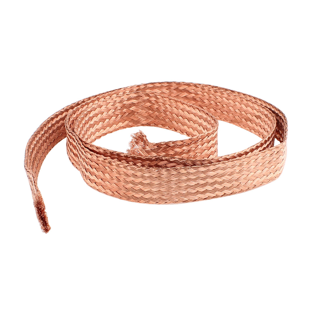 10 Square Millimeter Thickness 1M Length Flat Electrical Bare Braided Copper Wire