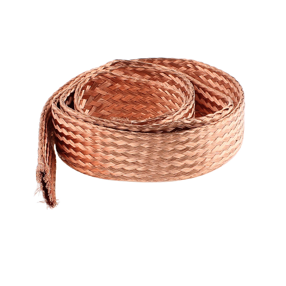 16 Square Millimeter Thickness 1M Length Flat Electrical Bare Braided Copper Wire