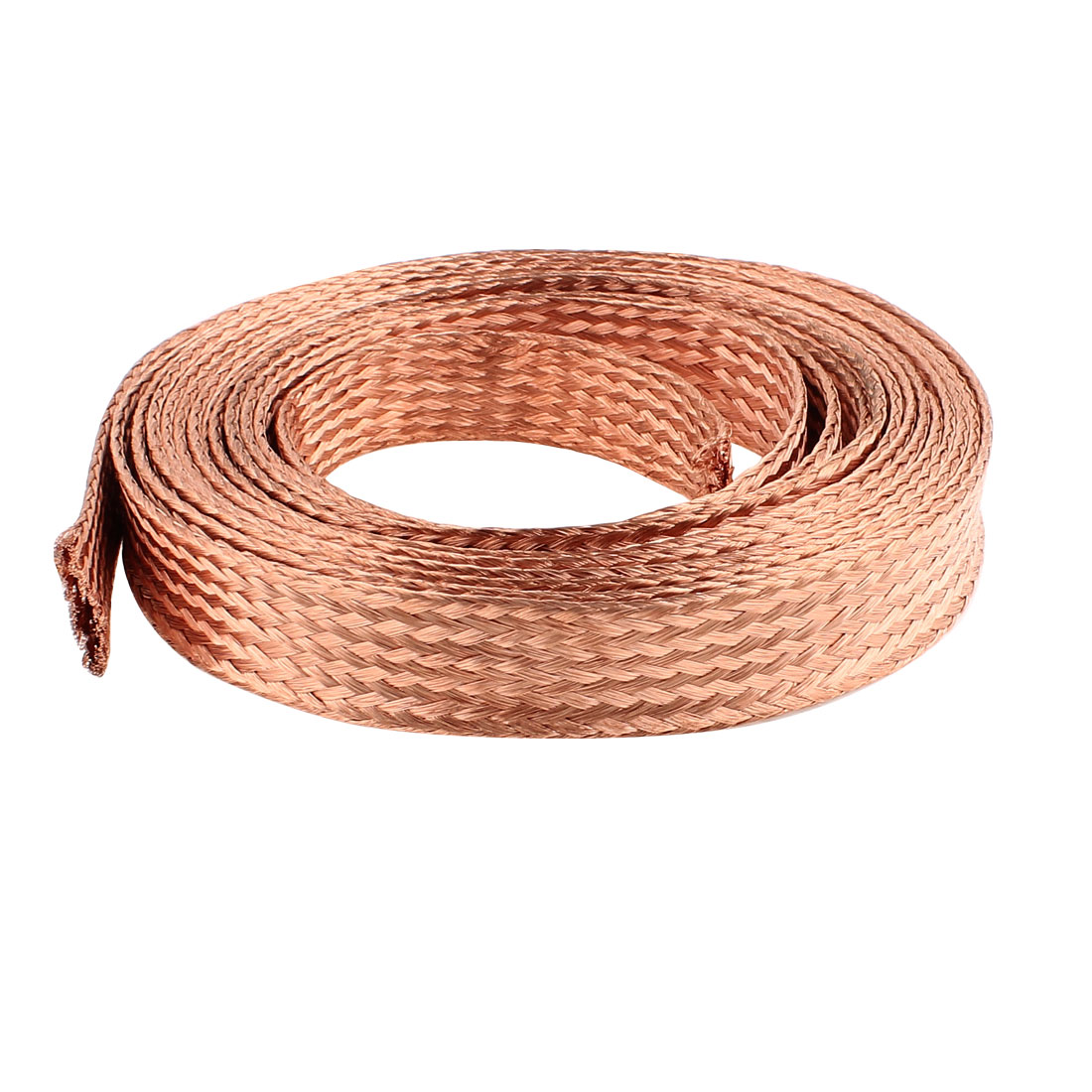 16 Square Millimeter Thickness 5M Length Flat Electrical Bare Braided Copper Wire