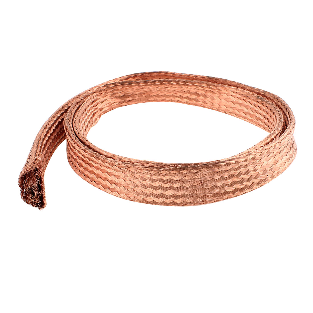 35 Square Millimeter Thickness 1M Length Flat Electrical Bare Braided Copper Wire