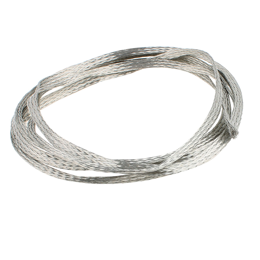 2.5 Square Millimeter Thickness 2M Length Flat Bare Tined Braided Copper Wire