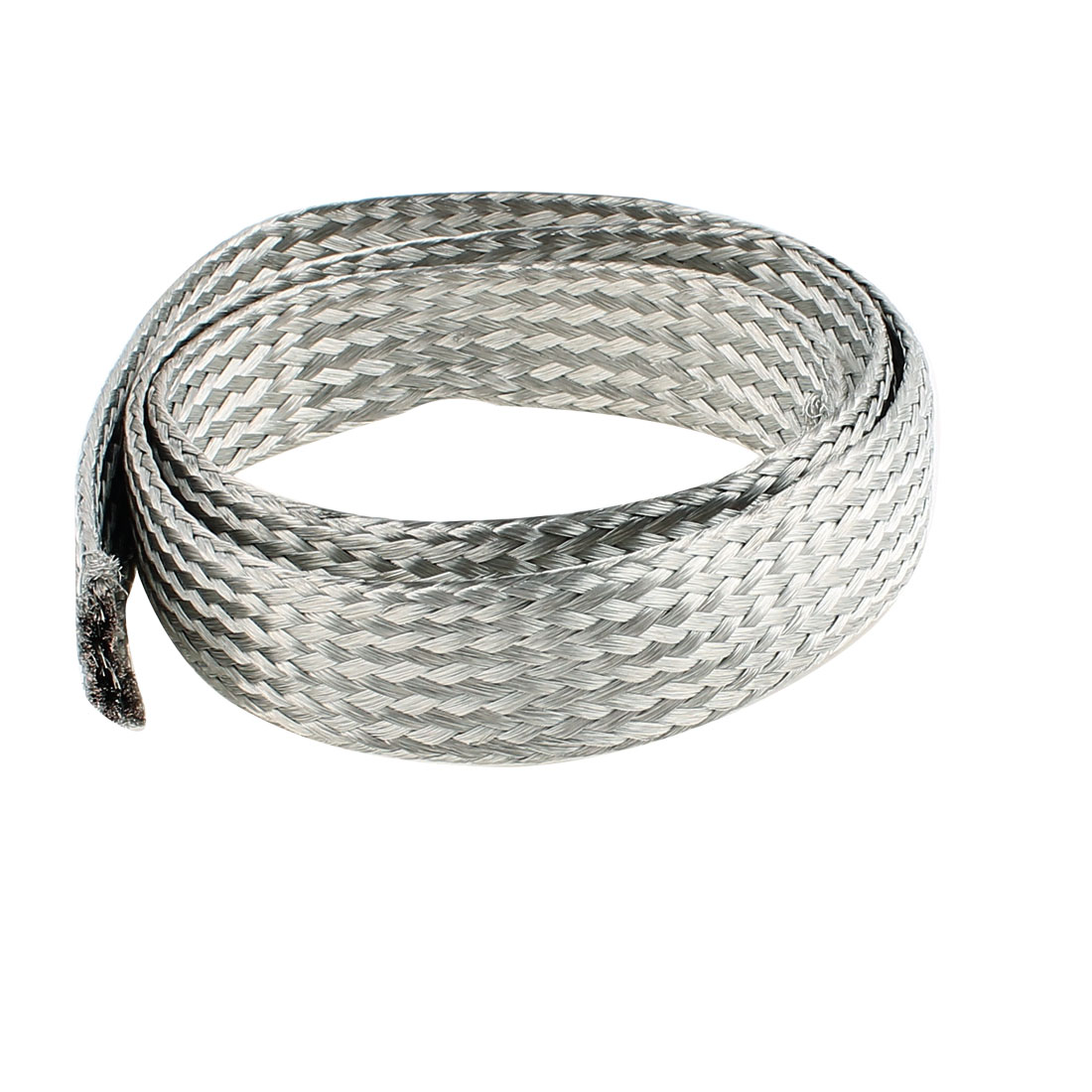 25 Square Millimeter Thickness 1M Length Flat Bare Tined Braided Copper Wire