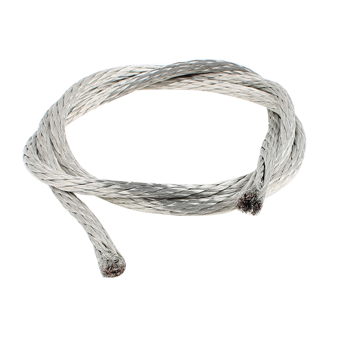 16 Square Millimeter Thickness 1M Length Tubular Bare Tined Braided Copper Wire