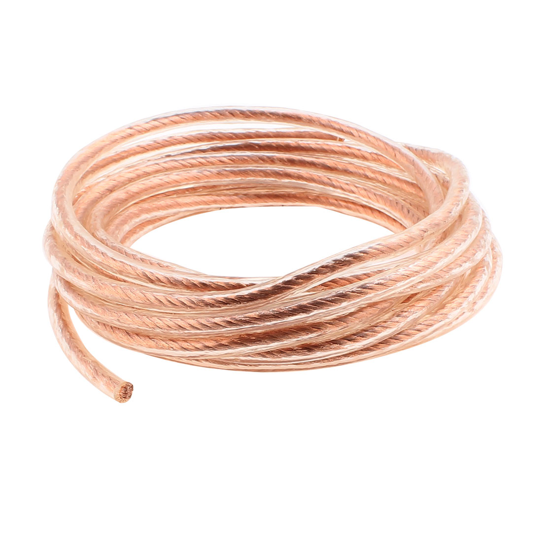 6 Square Millimeter Thickness 5M Length Electircal Braided Copper Wire