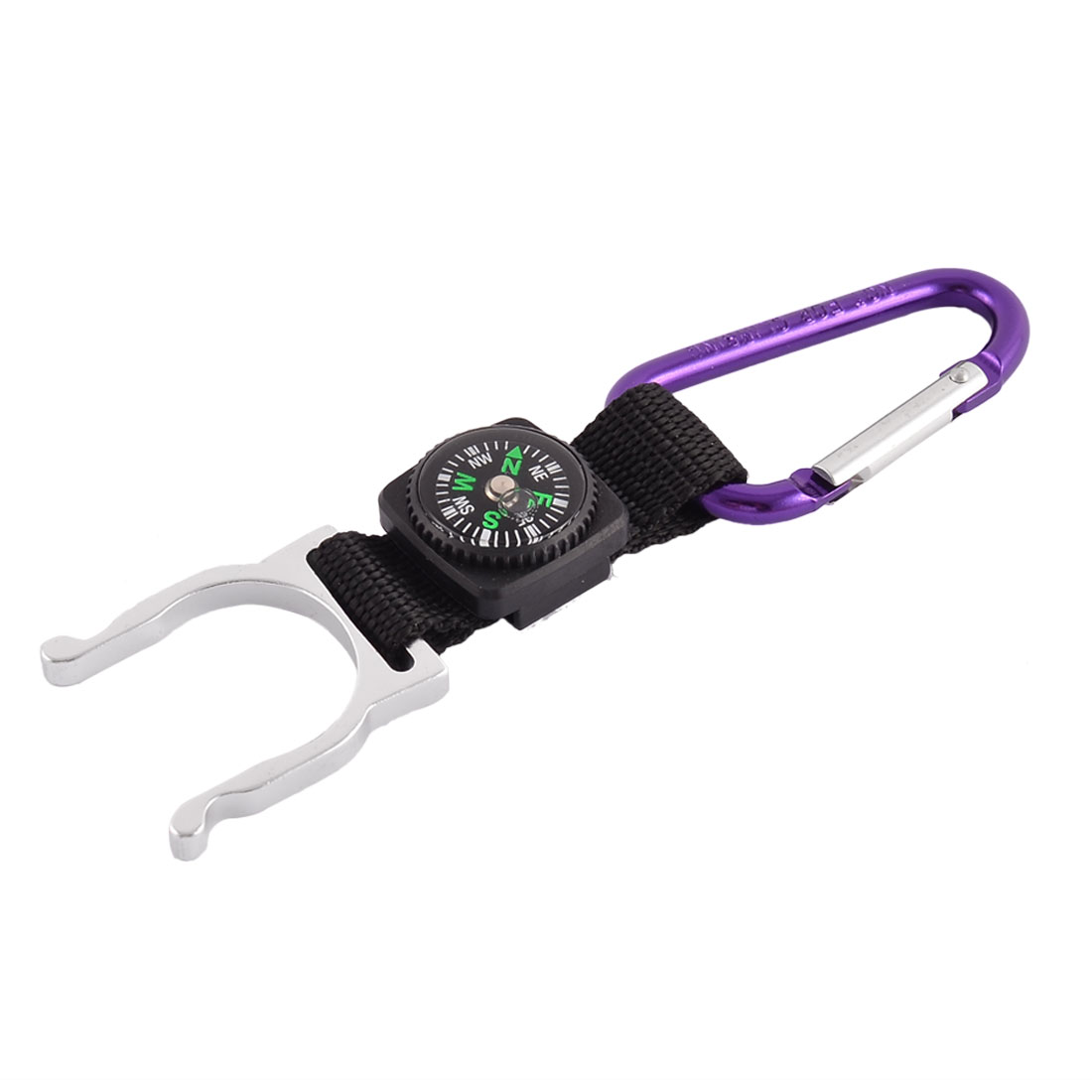 Traveling Climbing Metal Tool Bottle Holder Container Clip Carabiner Key Chain Ring