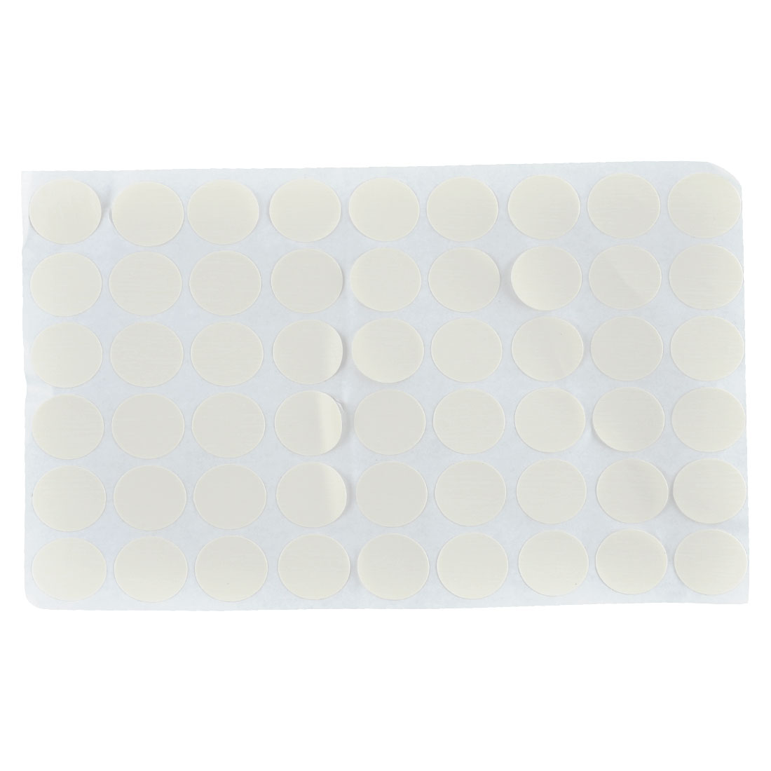 Home Office Furniture Self-adhesive Screw Hole Stickers Covers Sheet Beige 54 in 1