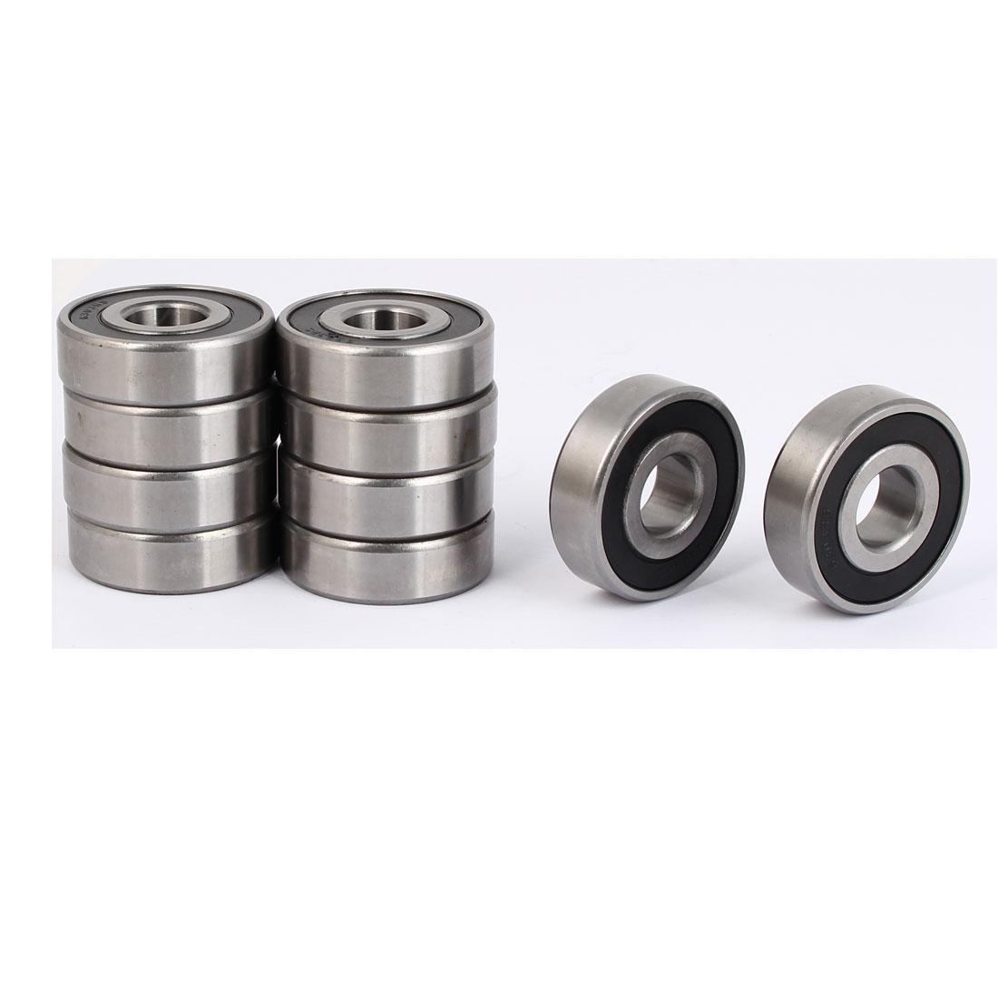 2RS6303 Rubber Sealed Deep Groove Ball Bearing 47mmx17mmx14mm 10pcs