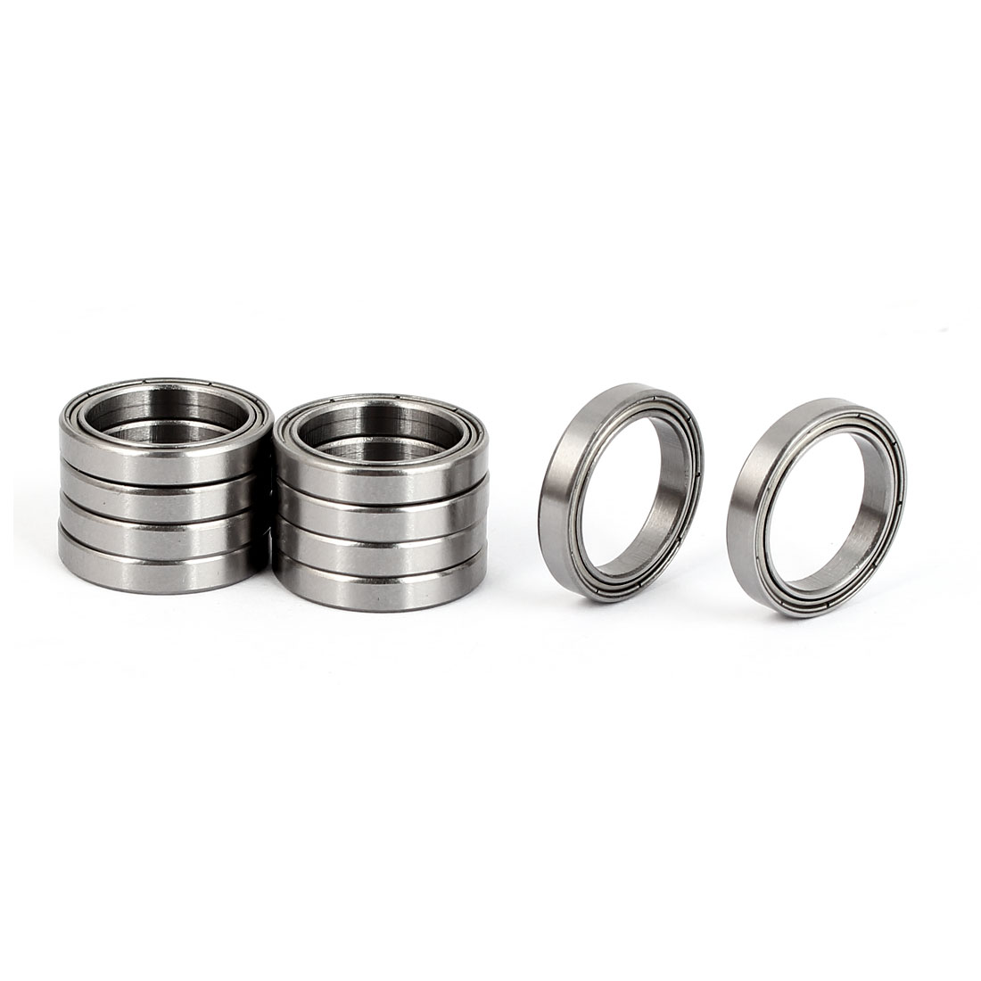 ZZ6701 Deep Groove Ball Bearing 18mm OD 12mm Bore Diameter 10pcs