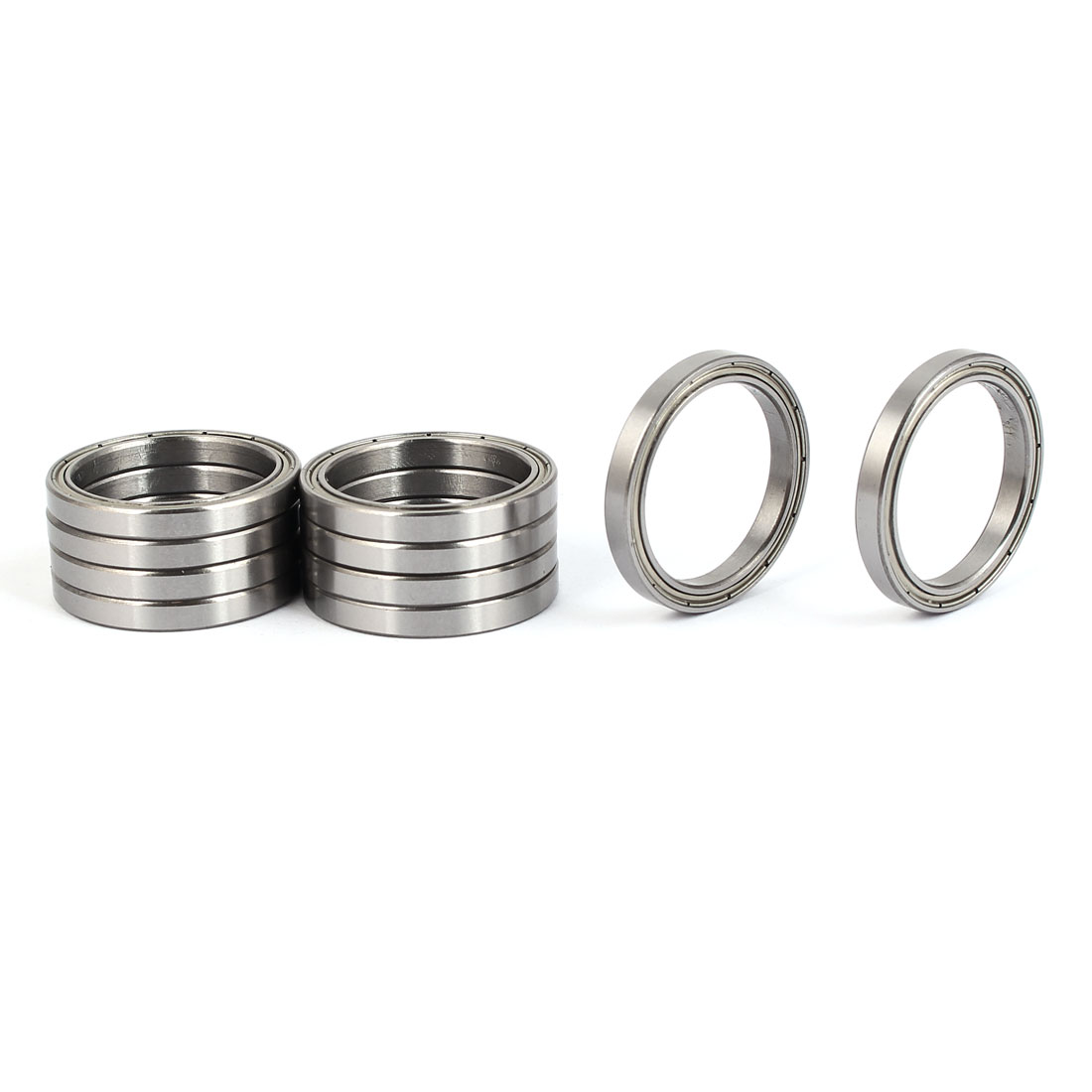 ZZ6705 Deep Groove Ball Bearing 32mm OD 25mm Bore Diameter 10pcs