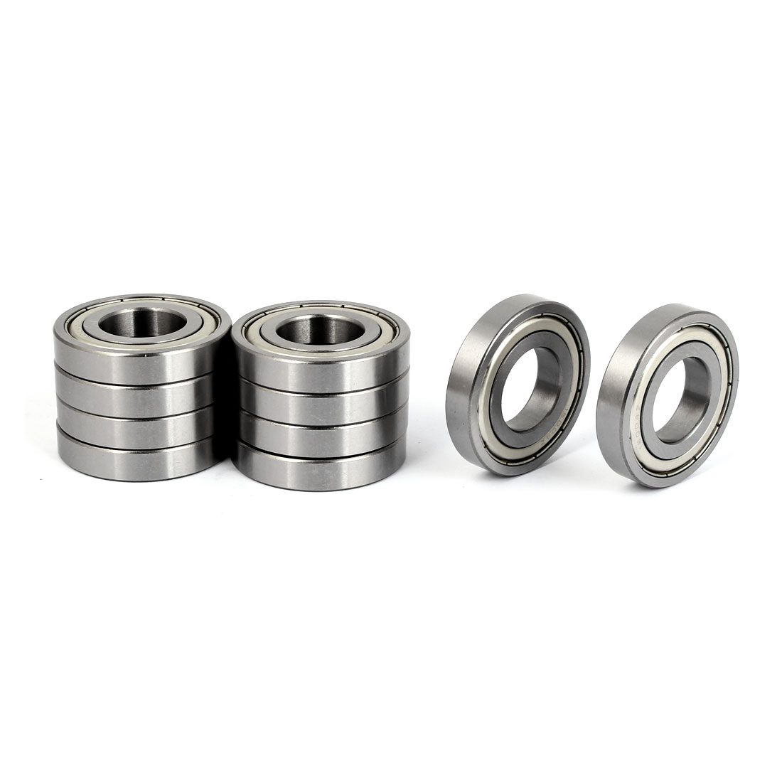 ZZ16004 Sealed Deep Groove Ball Bearing 42mmx20mmx8mm 10pcs