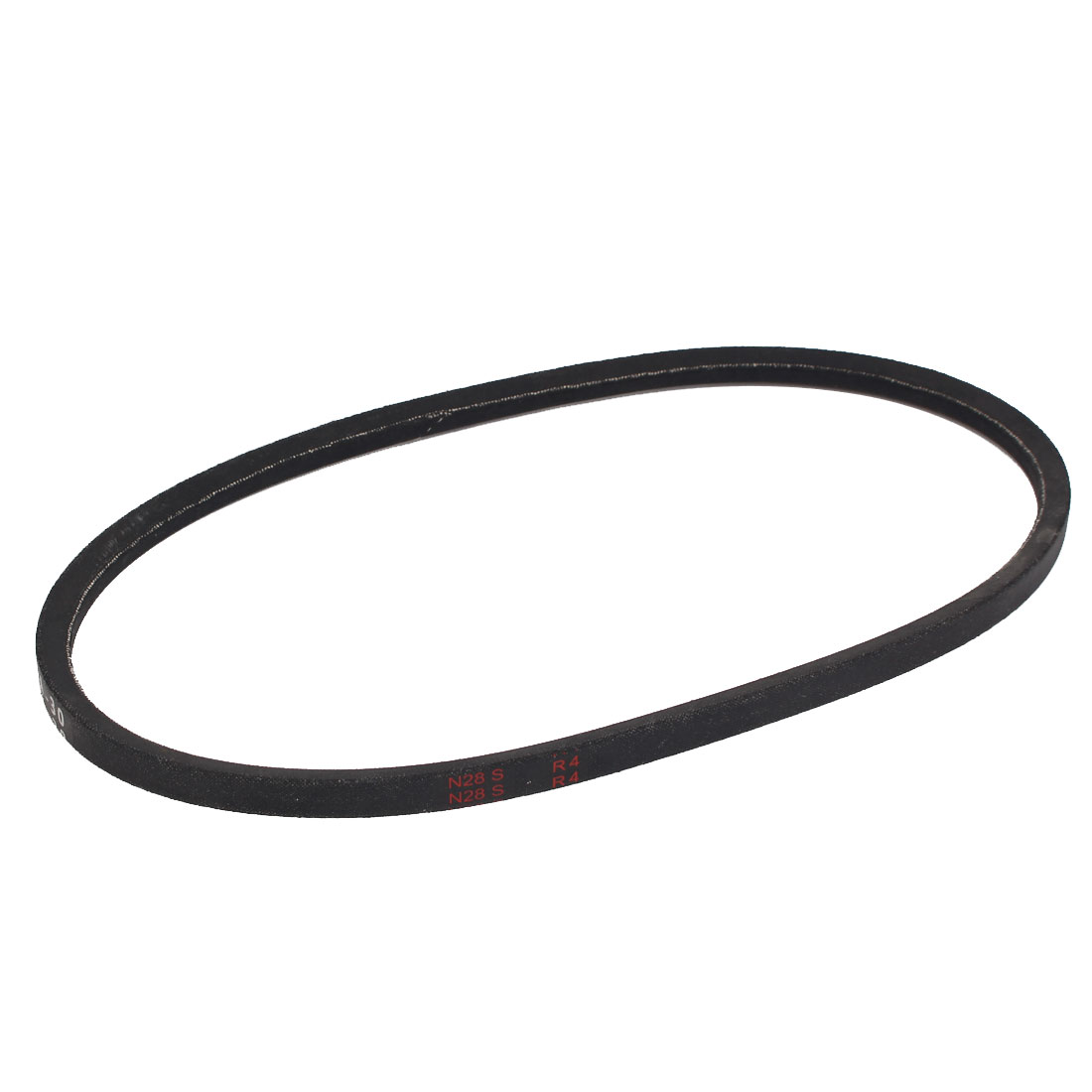 "A30 Type Rubber Machine Transmission Band Drive Vee V Belt 30"" x 1/2"" Black"