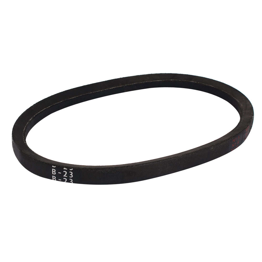 B23 Rubber V-shaped Drive Belt Black 11mm Thick 23-inch x 0.67-inch