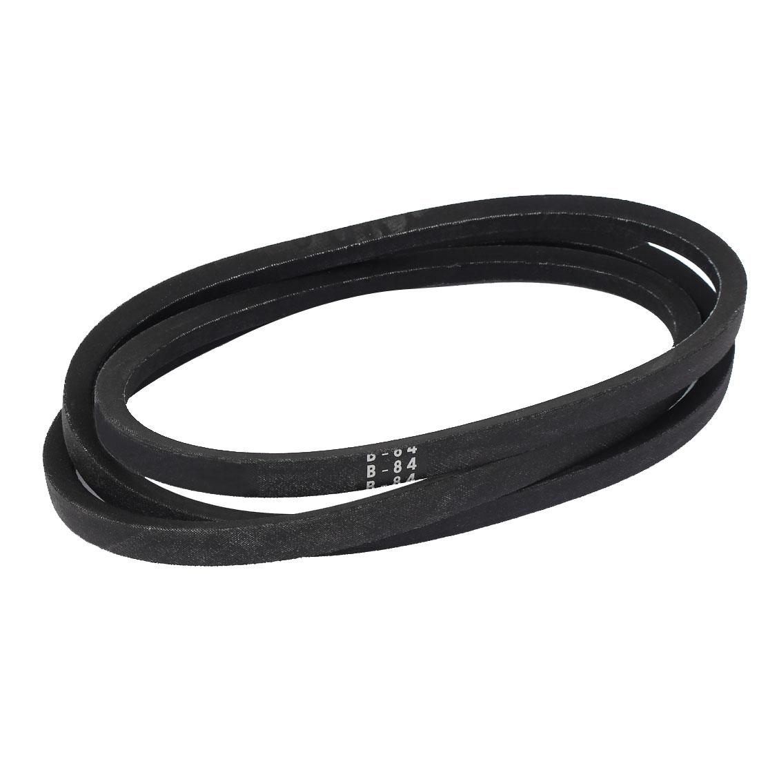 "B84 84"" x 0.67"" Industrial Machine Rubber Drive Belt V-Belt"