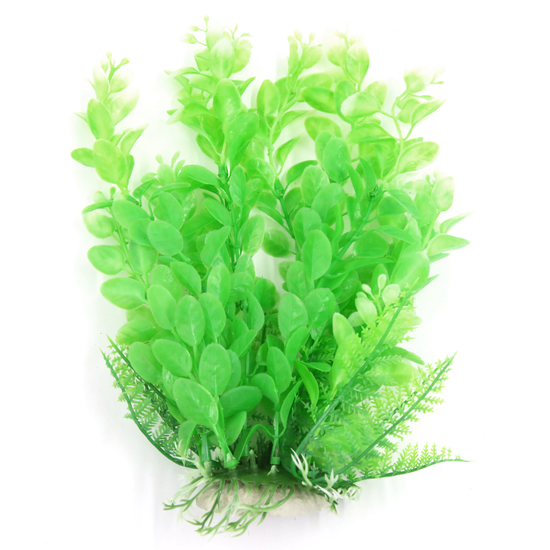 Aqua Landscape Fish Tank Decoration Green Plastic Plant for Betta 22cm
