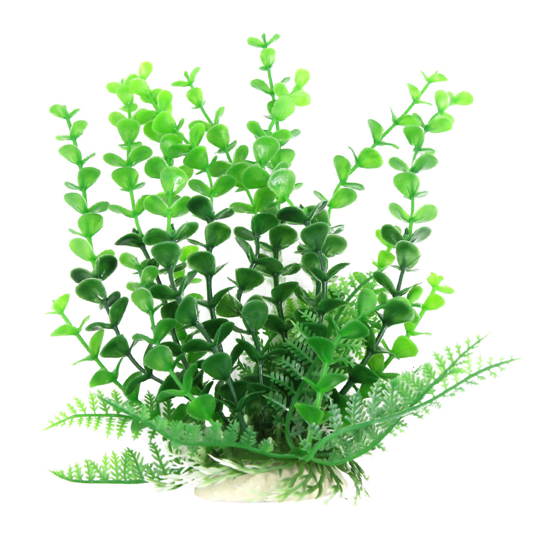Aquarium Landscape Fish Green Decoration Atificial Plastic Plant for Betta 20cm