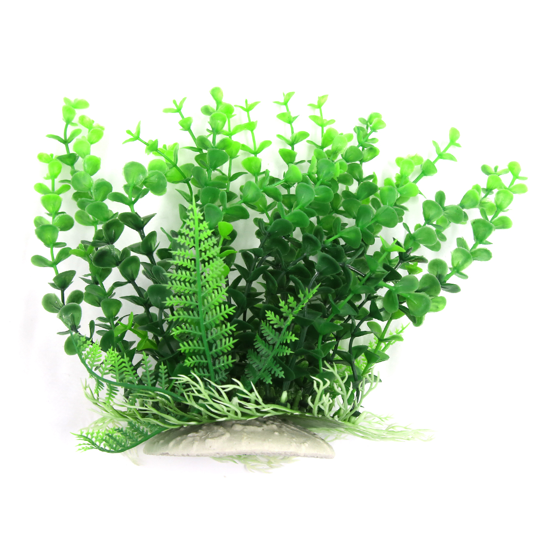 Aqua Landscape Decoration Atificial Plastic Green Plant for Betta 21cm
