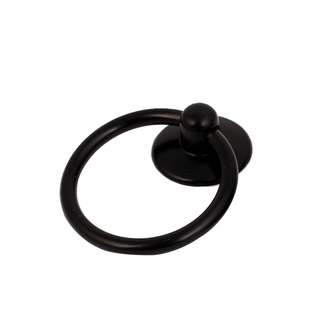 Cupboard Cabinet Drawer Dresser Rings Pulls Knob Black