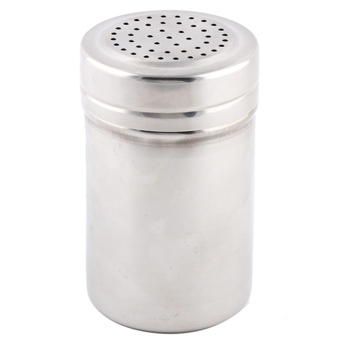 Kitchenware Stainless Steel Multi Holes Outlet Spice Salt Pepper Shaker Cruet Bottle 3.3 Inch High