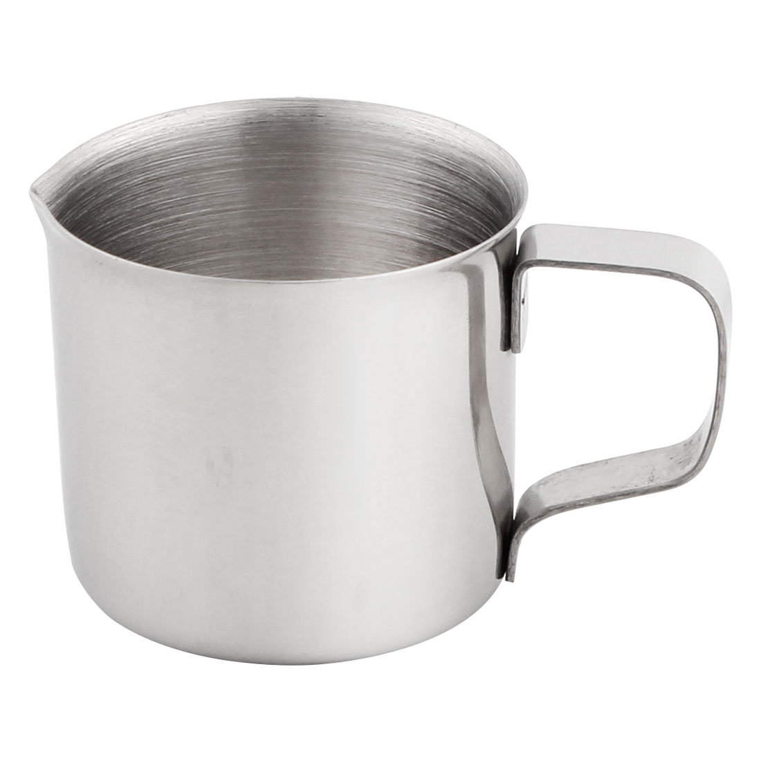 Kitchen Laboratory Stainless Steel Handle Water Liquid Measurement Cup Mug 1 Ounce