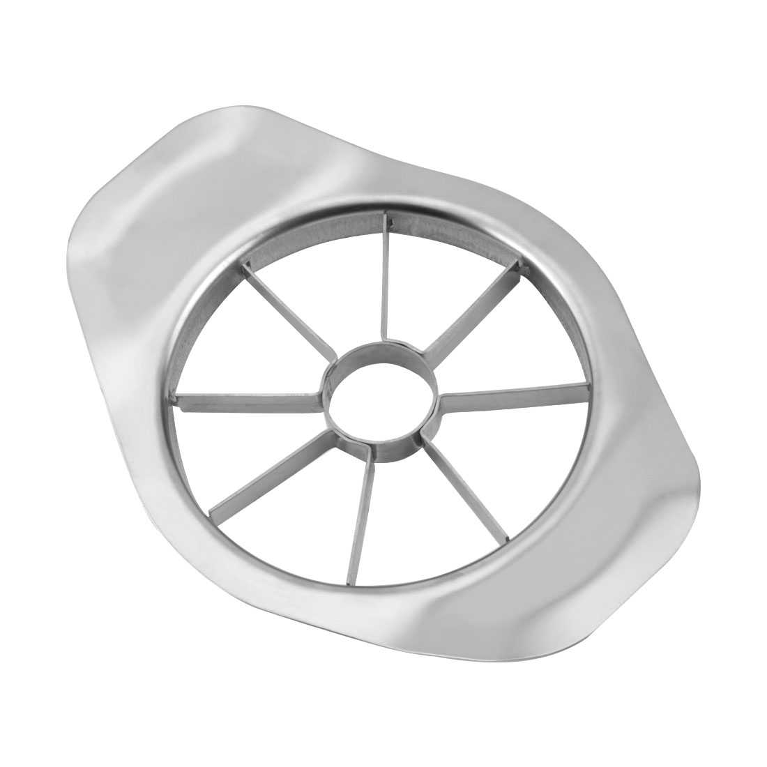 Home Kitchen Stainless Steel Fruit Pear Apple Slicer Corer Silver Tone