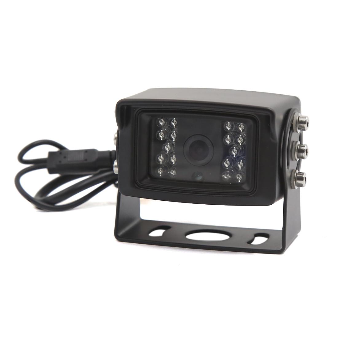 CCD 120 Degree 600TVL Parking Backup Car Rear View Safety Camera LED Night Vison