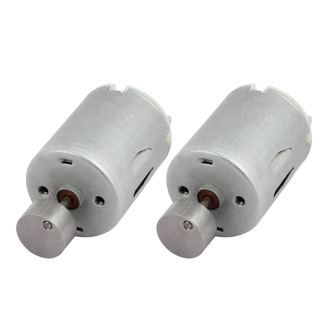 2Pcs DC6V 4000RPM Rotary Speed Electric Vibration Mini 280 Motor for DIY Model Toy