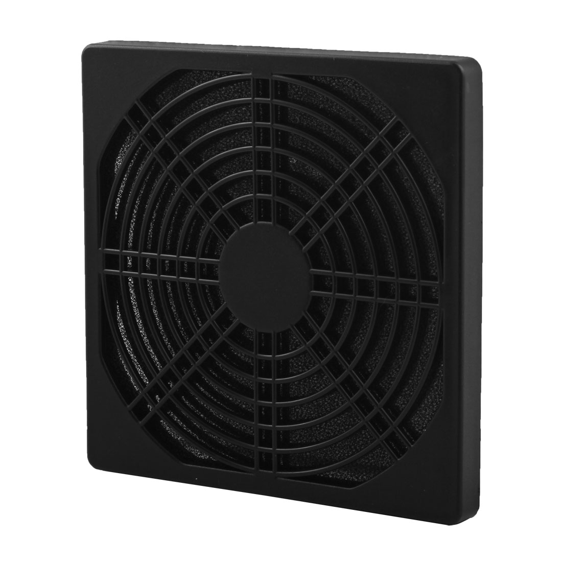 120mm x 120mm Plastic PC Computer Dustproof Case Fan Dust Filter Black