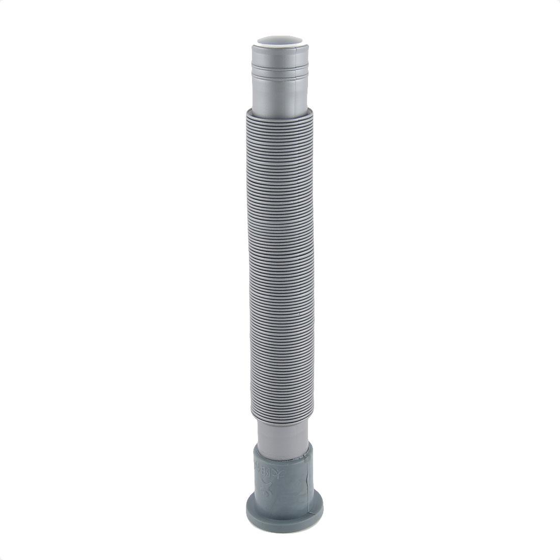 Kitchen Bathroom Plastic Sink Pedestal Basin Flexible Drain Hose Tube Pipe