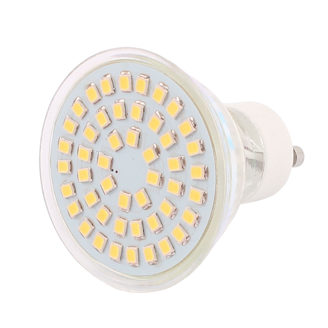 GU10 SMD 2835 48 LEDs Glass Energy-Saving LED Lamp Bulb Warm White AC 110V 4W