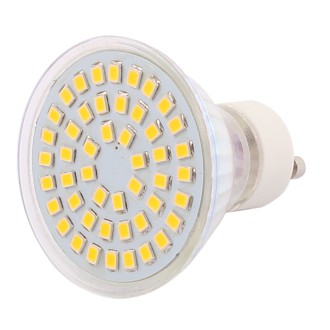 GU10 SMD 2835 48 LEDs Glass Energy-Saving LED Lamp Bulb Warm White AC 220V 4W