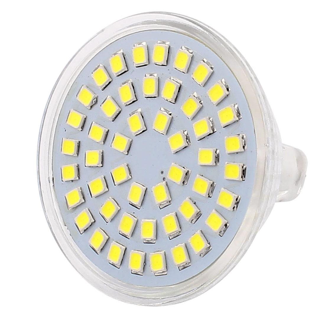 MR16 SMD 2835 48 LEDs Glass Energy-Saving LED Lamp Bulb White AC 220V 4W