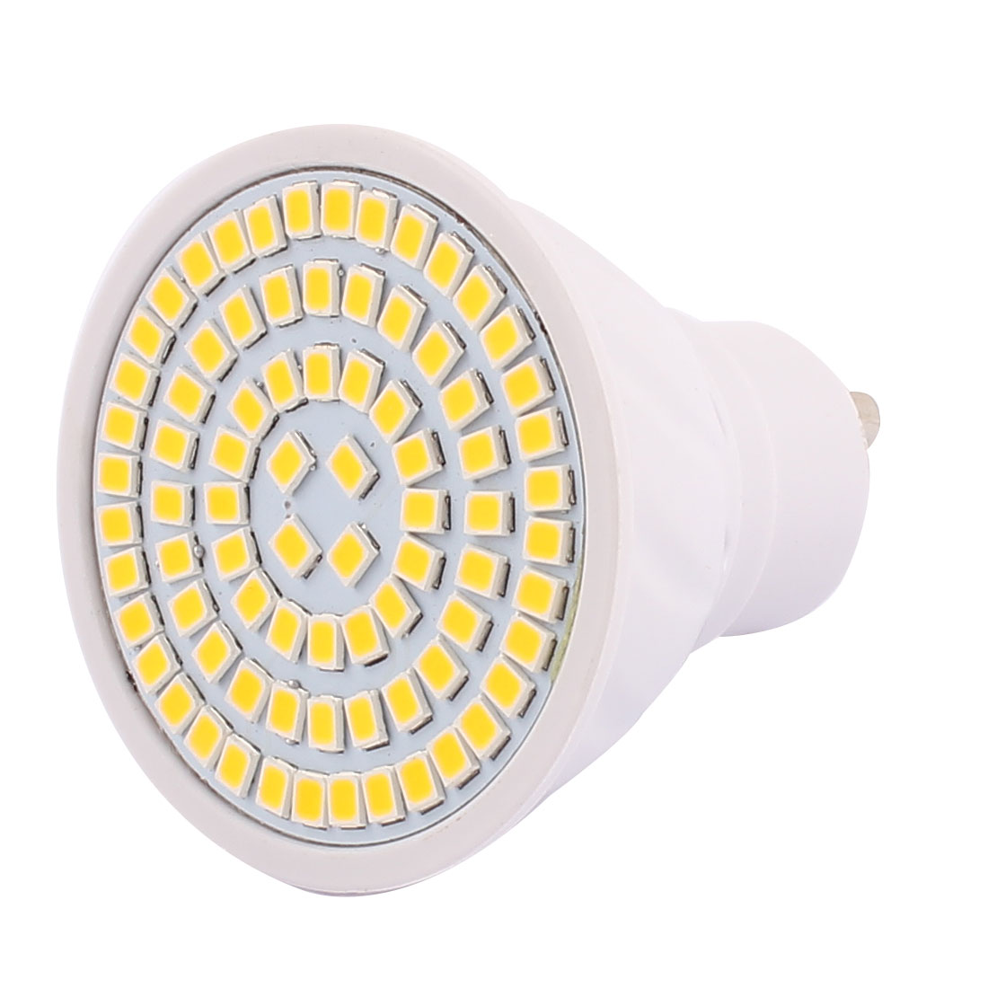 GU10 SMD 2835 80 LEDs Plastic Energy-Saving LED Lamp Bulb Warm White AC 110V 8W