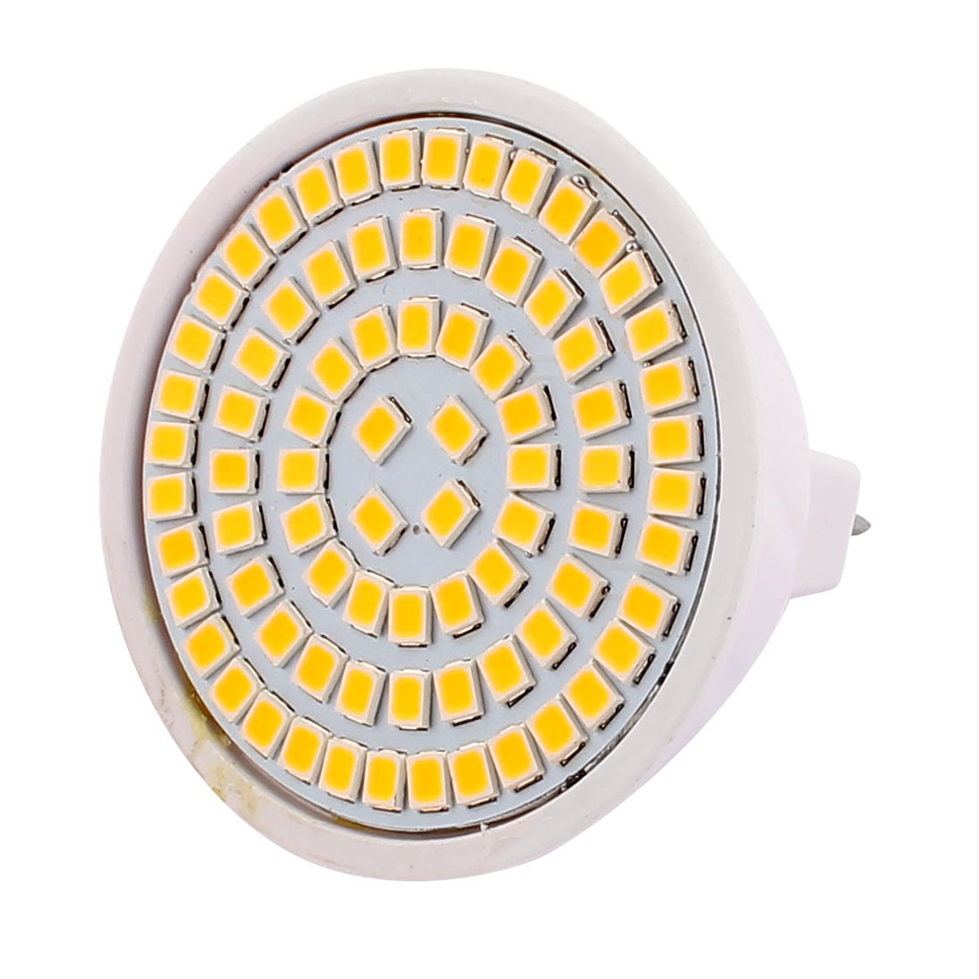 MR16 SMD 2835 80 LEDs Plastic Energy-Saving LED Lamp Bulb WarmWhite AC 220V 8W