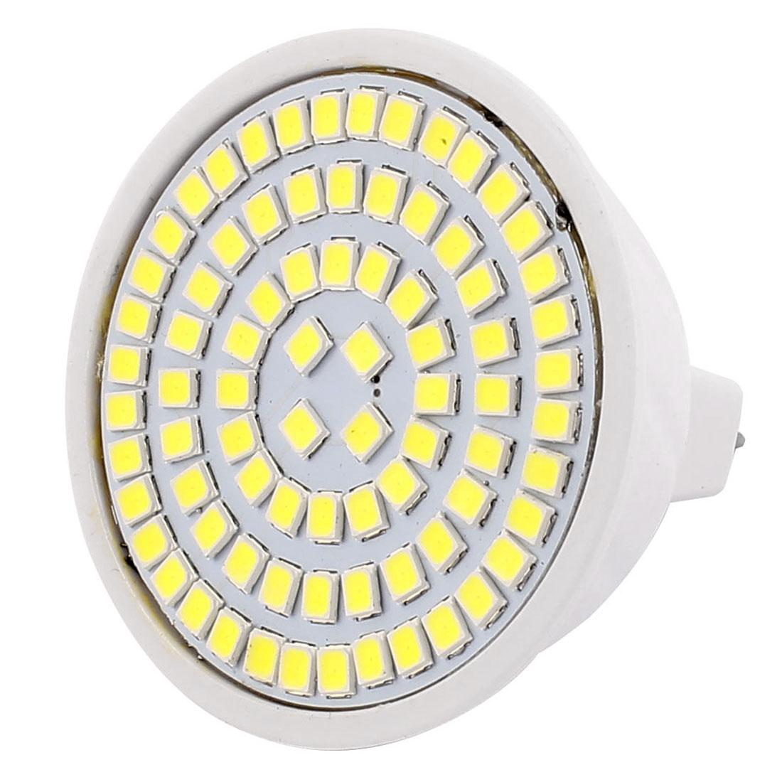 MR16 SMD 2835 80 LEDs Plastic Energy-Saving LED Lamp Bulb White AC 220V 8W