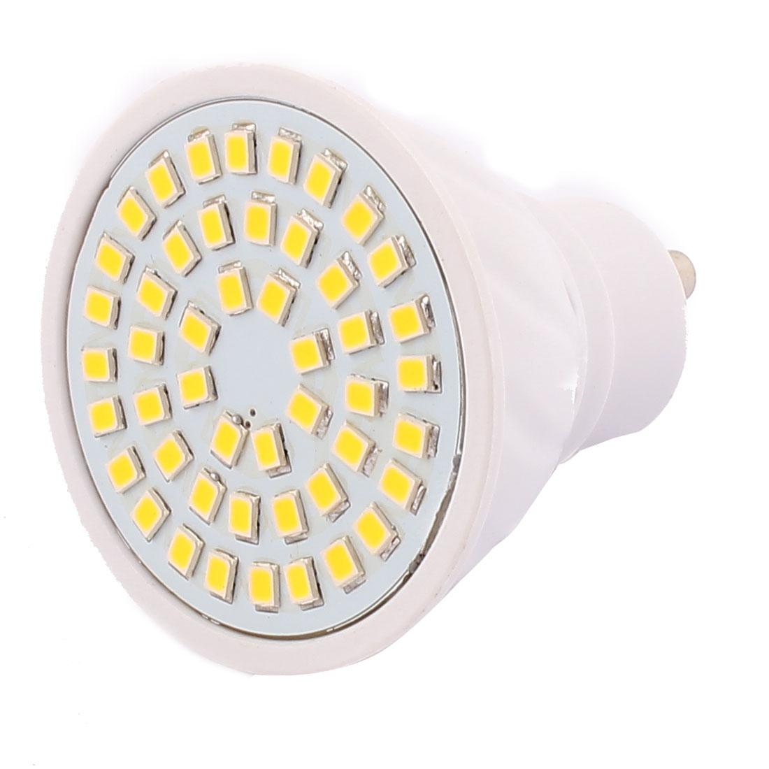 GU10 SMD 2835 48 LEDs Plastic Energy-Saving LED Lamp Bulb Warm White AC 220V 4W