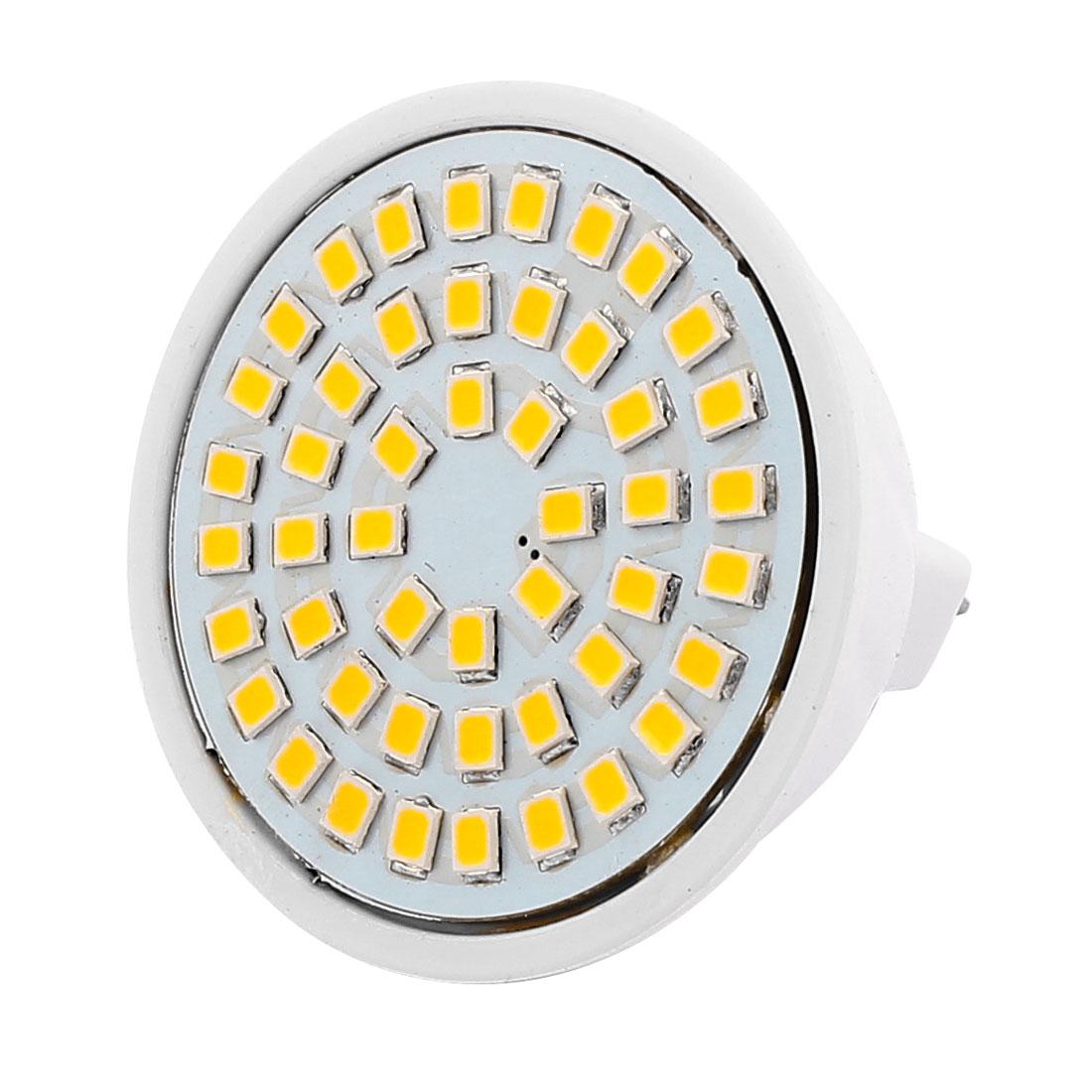 MR16 SMD 2835 48 LEDs Plastic Energy-Saving LED Lamp Bulb Warm White AC 220V 4W