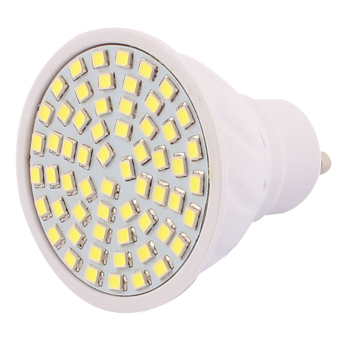 GU10 SMD 2835 60 LEDs Plastic Energy-Saving LED Lamp Bulb White AC 110V 6W