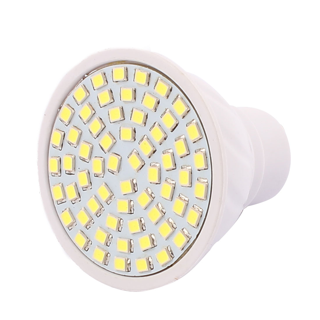GU10 SMD 2835 60 LEDs AC 220V 6W Plastic Energy-Saving LED Lamp Bulb White