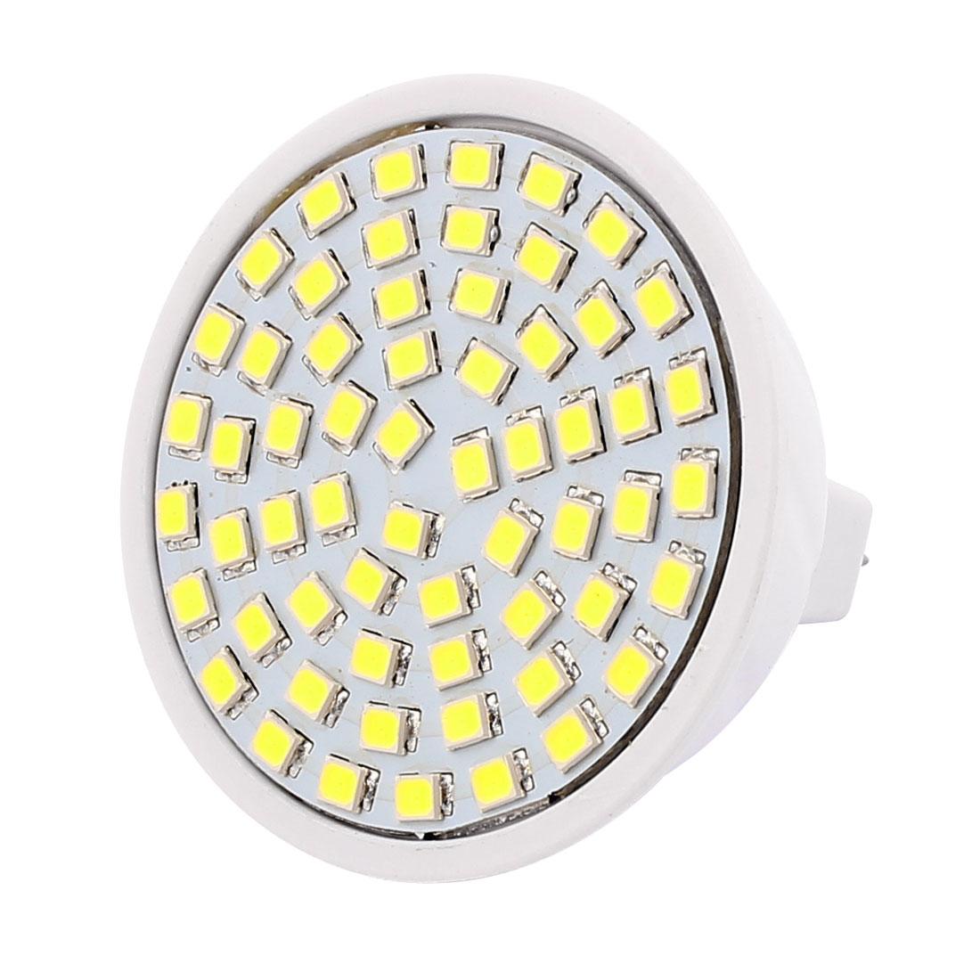 MR16 SMD 2835 60 LEDs 6W Plastic Energy-Saving LED Lamp Bulb White AC 220V