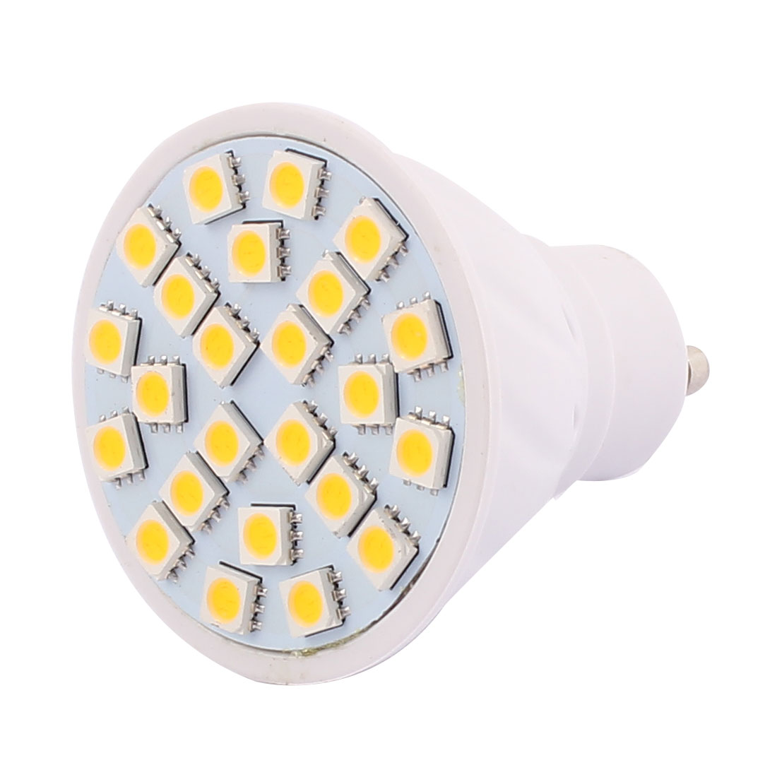 GU10 SMD 5050 24 LEDs AC 110V 3W Plastic Energy Saving LED Lamp Bulb Warm White
