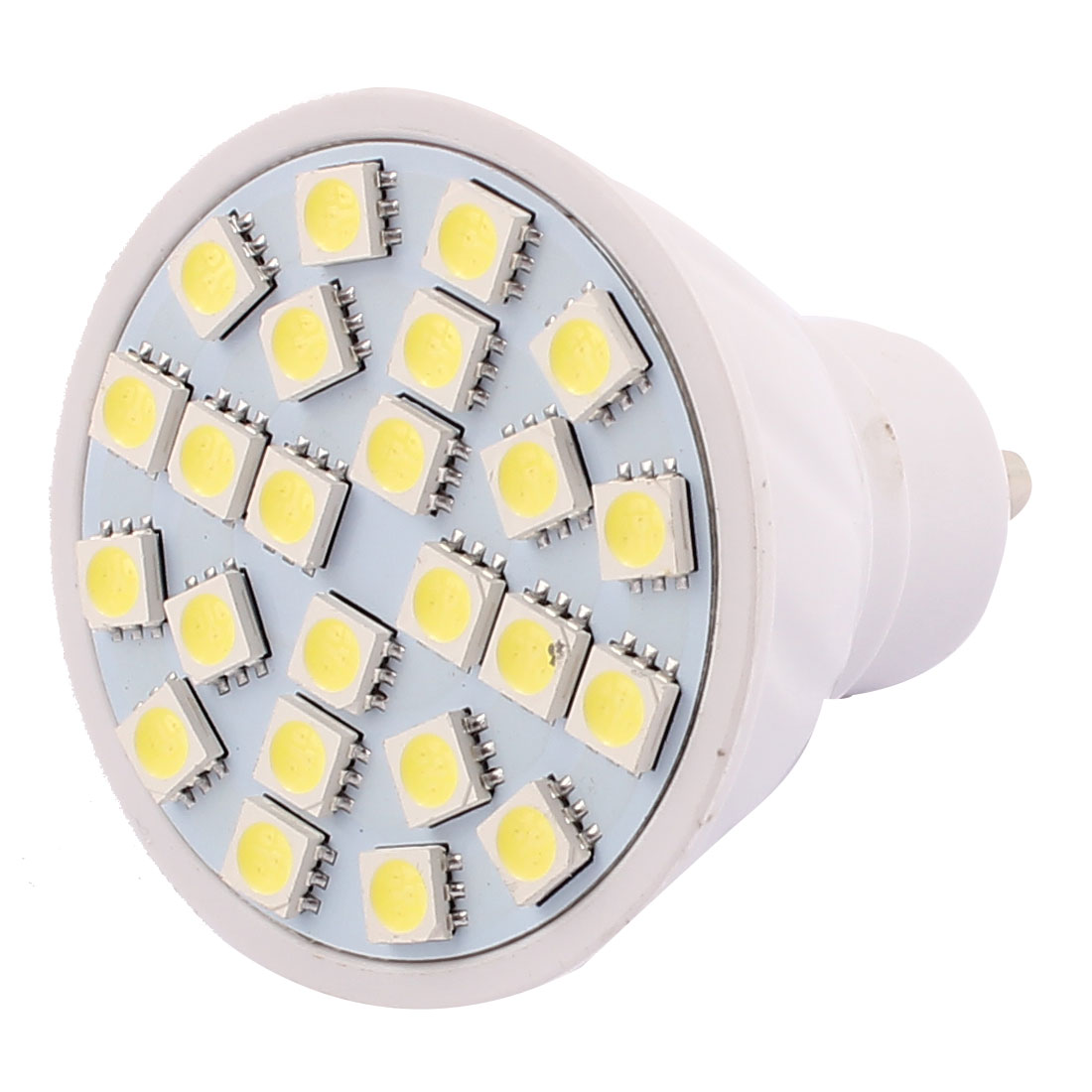 GU10 SMD 5050 24 LEDs Plastic Energy Saving LED Lamp Bulb White AC 110V 3W